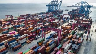 Turkey's exports to neighboring countries, which makes it became clear